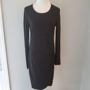 Ann Taylor Ruched Jersey Sheath Dress